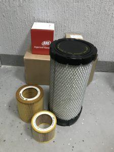 Фильтры масляные и воздушные Ingersoll Rand