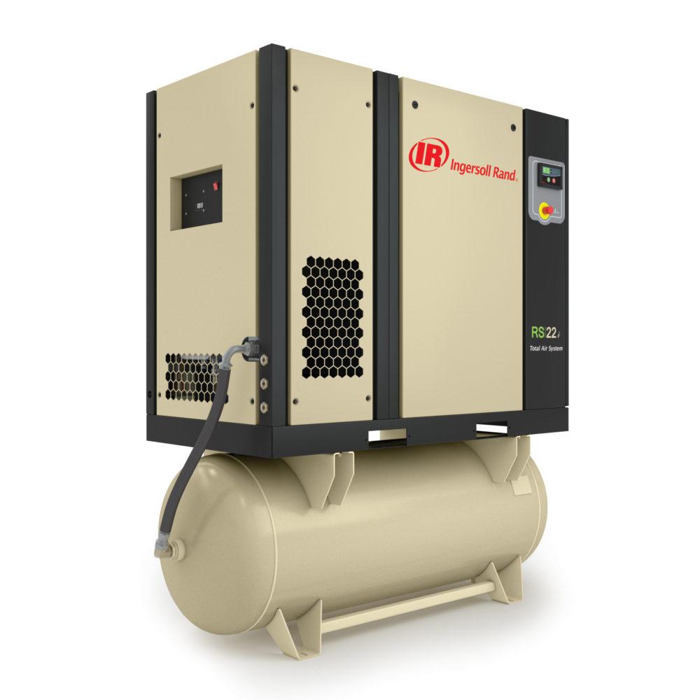 Винтовой маслозаполненный компрессор с фиксированной скоростью RS15-22i