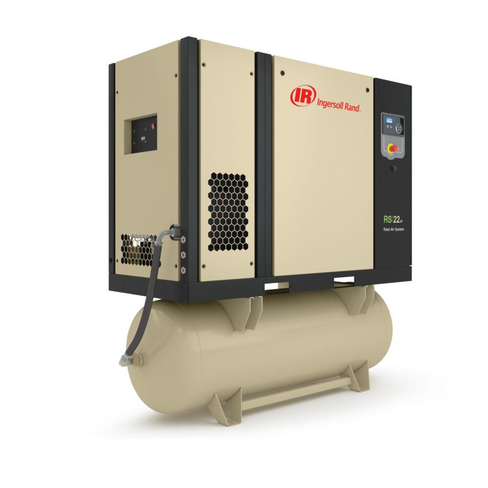 Винтовой маслозаполненный компрессор с частотным преобразователем RS15-22n