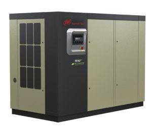Винтовой маслозаполненный компрессор с частотным преобразователем R90-160n