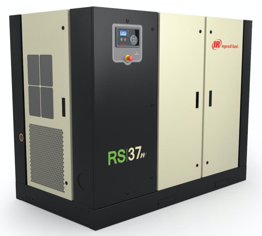 Винтовой маслозаполненный компрессор с частотным преобразователем RS30-37n