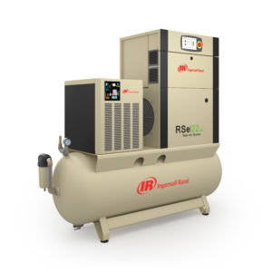 Винтовой маслозаполненный компрессор с частотным преобразователем RSe15-22i