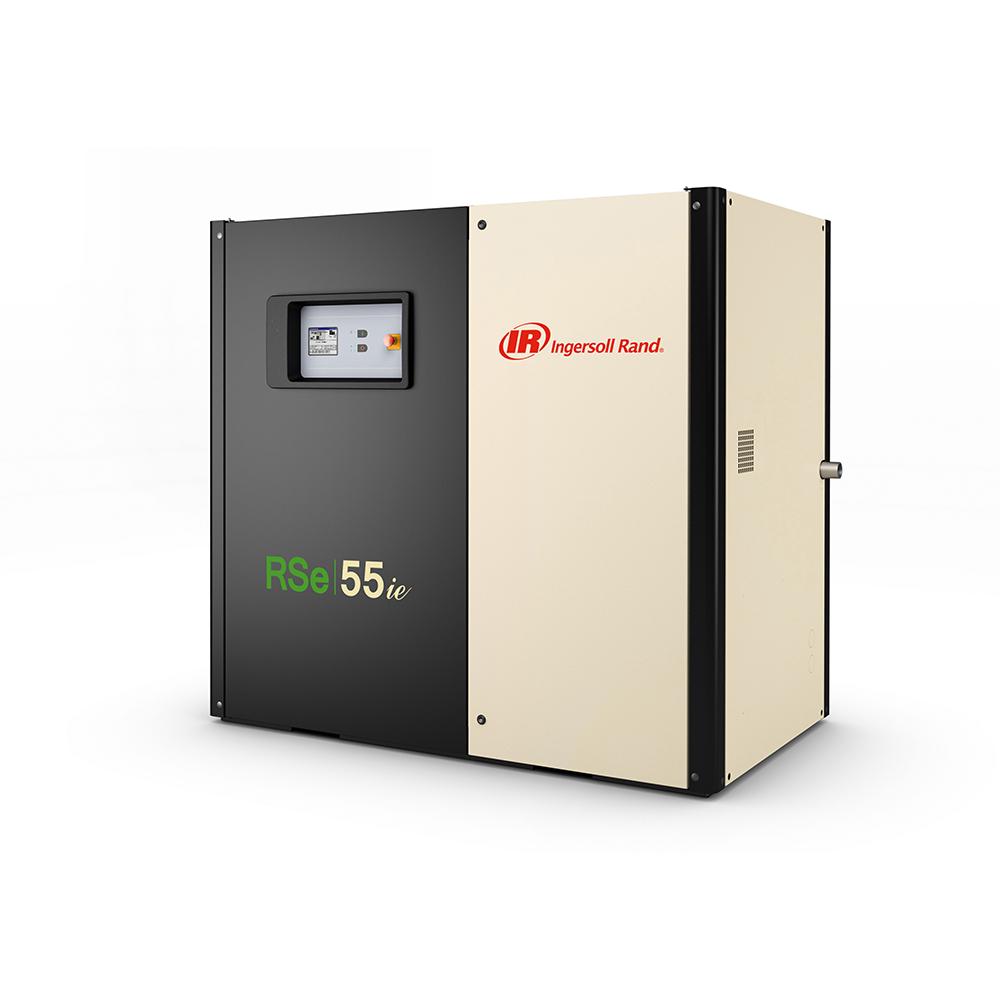 Винтовой маслозаполненный компрессор с частотным преобразователем RSe55n-A10