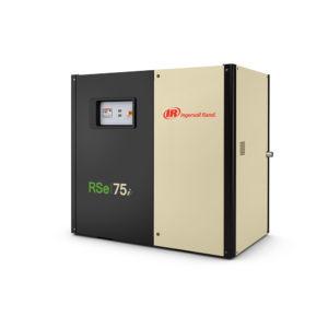 Винтовой маслозаполненный компрессор с частотным преобразователем RSe55-75n